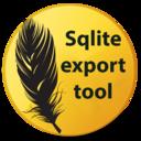 Sqlite export tool