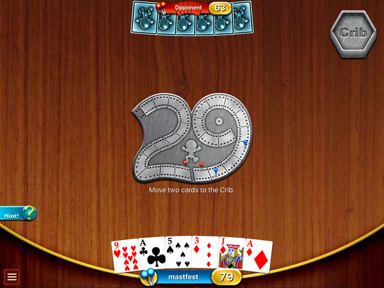 Cribbage Premium iPad Screenshot 1