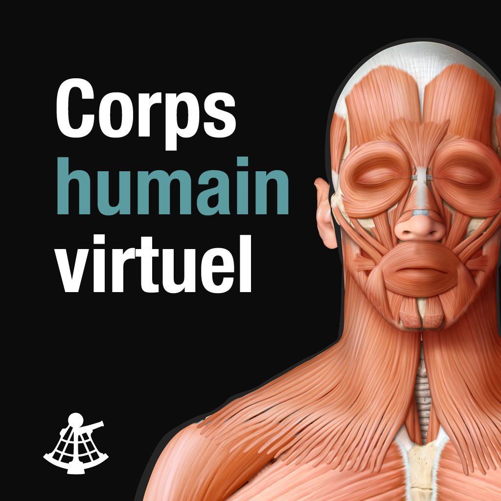Corps humain virtuel on the app store on itunes for Interieur corps humain
