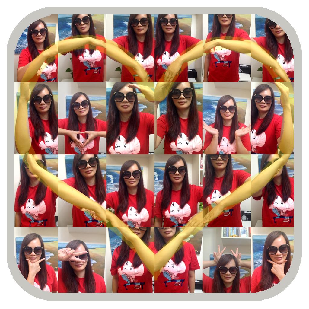 Tecnomania mosaico de fotos formando un corazon heartbooth - Como hacer un corazon con fotos ...