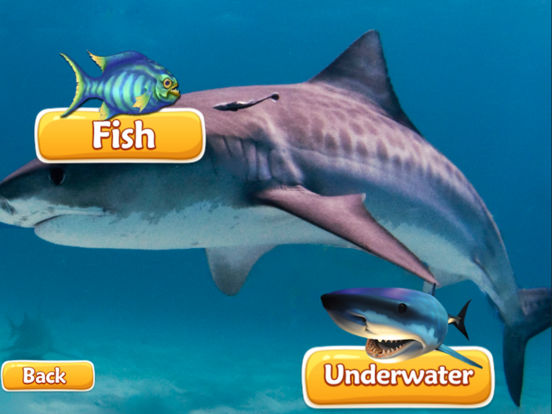 Sharks Spear Fishing Underwater - Shark Evolutions Screenshots
