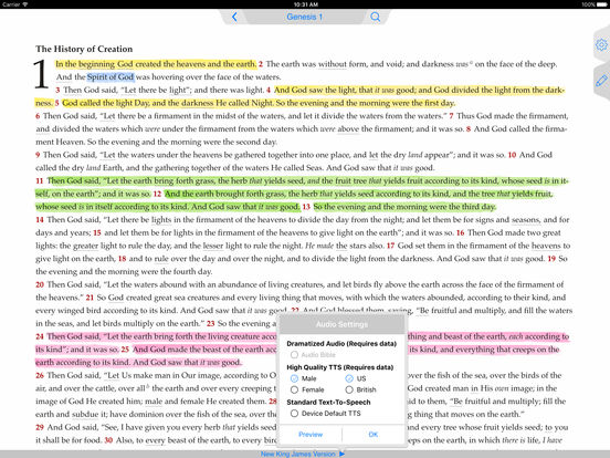 NKJV Bible iPad Screenshot 1