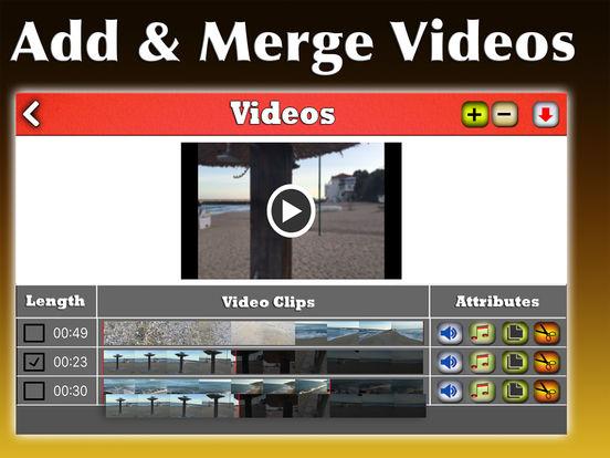 Video Lab Pro - Advanced Video Editor + Video FX Screenshots