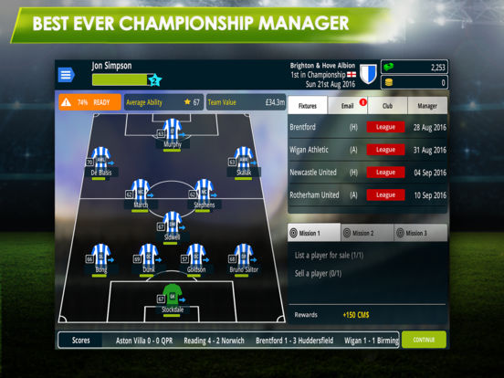 Championship Manager 17 Screenshots