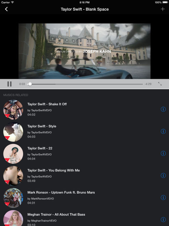 YMusic - Music Player, Play Music for Youtube Screenshots