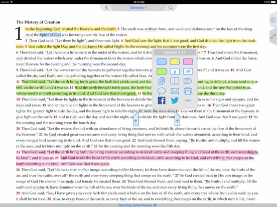 NKJV Bible iPad Screenshot 4