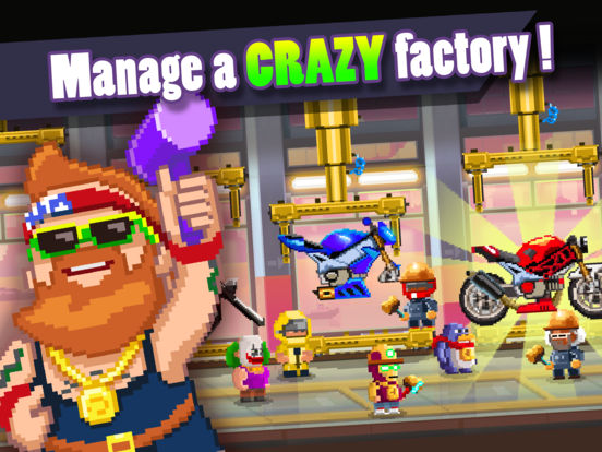Motor World: Bike Factory screenshot 5