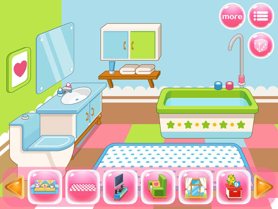 App shopper my room design princess home interior for Room design game app