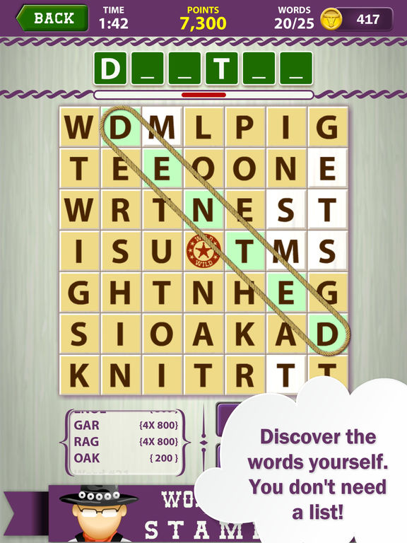 App shopper word roundup stampede word search games
