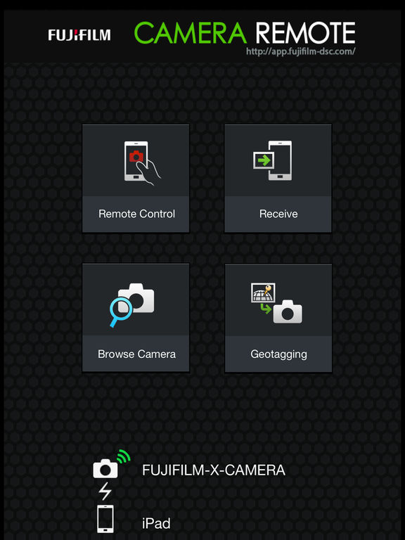 fujifilm x m1 camera application