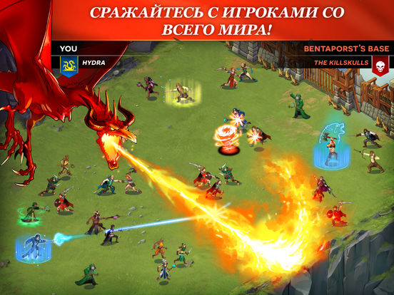 StormBorn: War of Legends на iPad