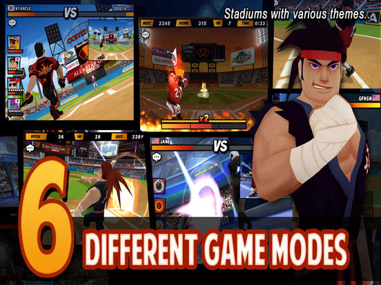 Homerun Battle 2 Screenshots