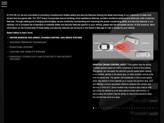 2011 Chrysler Group Fleet iPad Screenshot 4