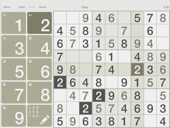@SUDOKU iPad Screenshot 3