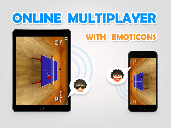 Screenshot #2 for Virtual Table Tennis HD