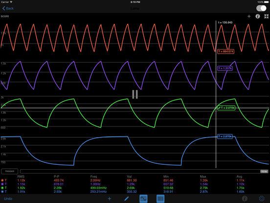 iCircuit iPad Screenshot 1