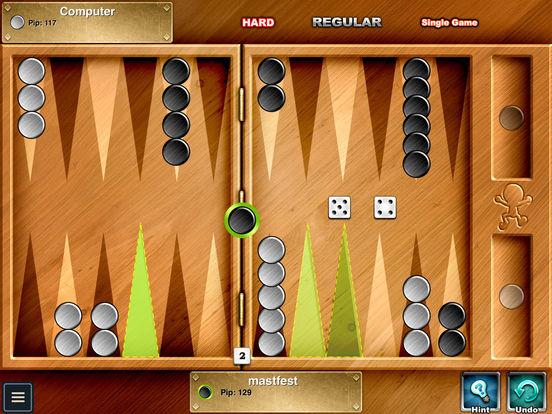 Backgammon HD iPad Screenshot 5