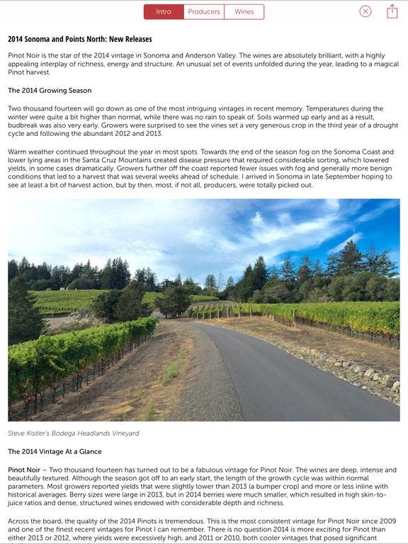 Vinous - Wine Reviews & Ratings screenshot