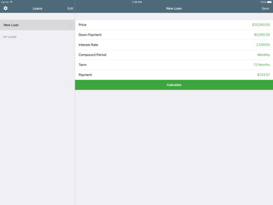 Loans Lite: Personal Loan Assistant iPad Screenshot 1