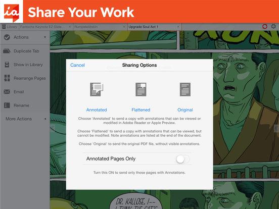 iAnnotate PDF Screenshot
