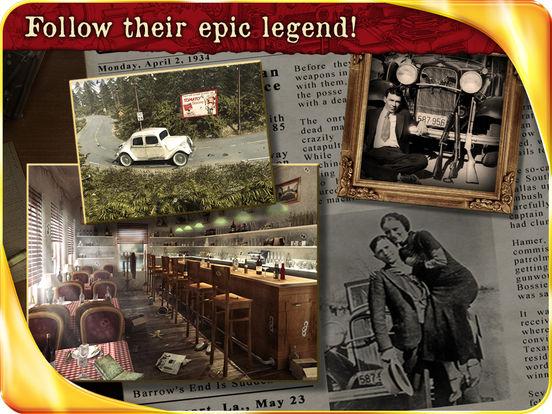 Public Enemies : Bonnie & Clyde HD iPad Screenshot 5