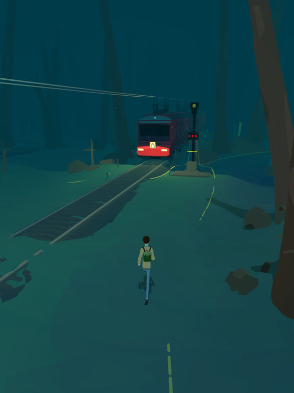 Lost Tracks Screenshot