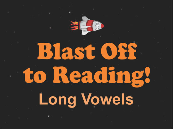 Long Vowel Rocket Game - Blast Off to Reading! Screenshots