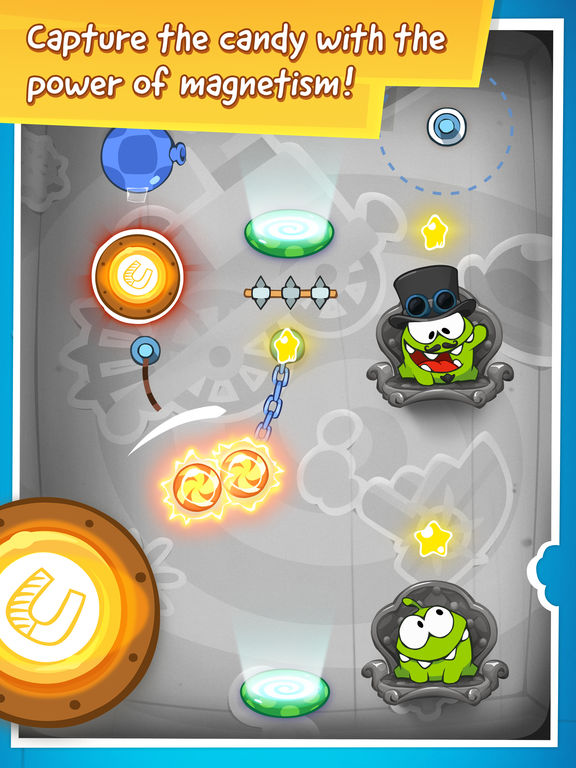 Screenshot #3 for Cut the Rope: Time Travel HD