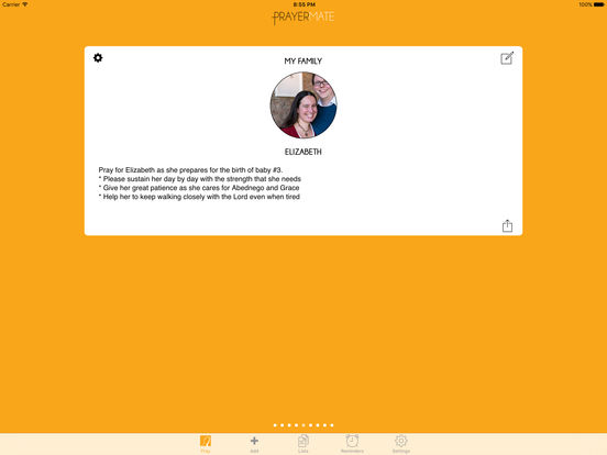 PrayerMate - Christian Prayer App screenshot