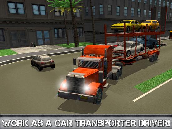 Car Transporter Driving Simulator 3D Full screenshot 5