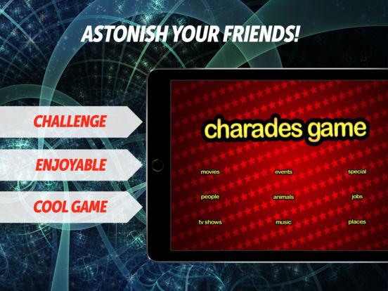 FREE Charades Game iPad Screenshot 1