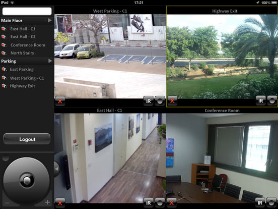 DVTel iPad Screenshot 3