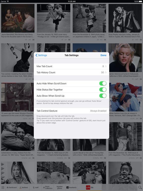 FastFeed T1 Screenshot