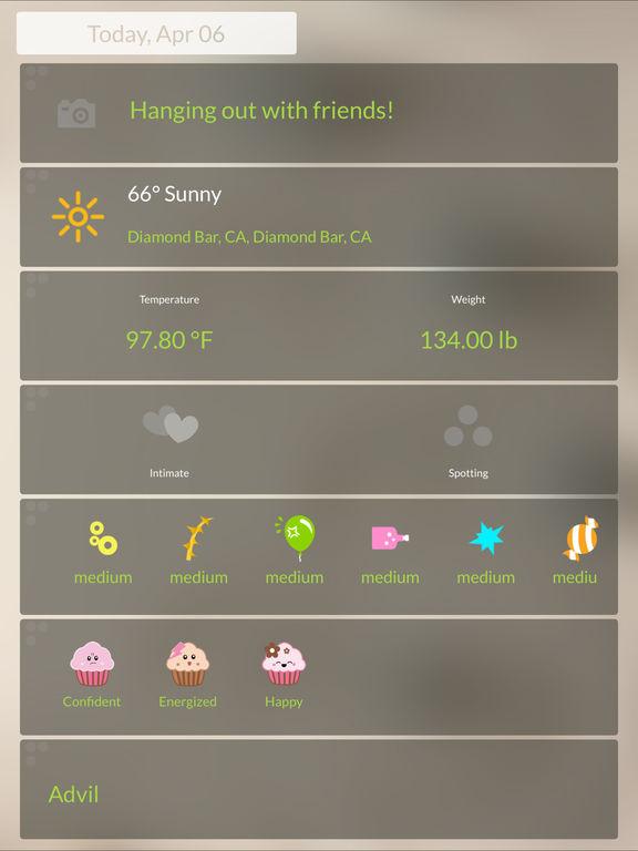 Period Tracker - Menstrual Calendar screenshot