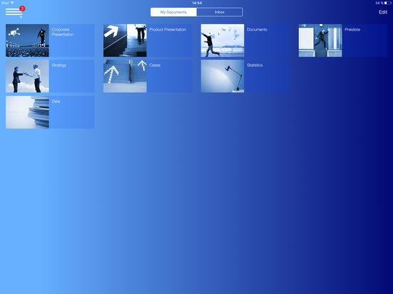 Aussendienst iPad Screenshot 1