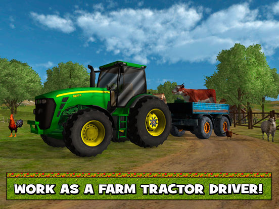 Farm Animal Transporter Simulator 3D Full screenshot 5