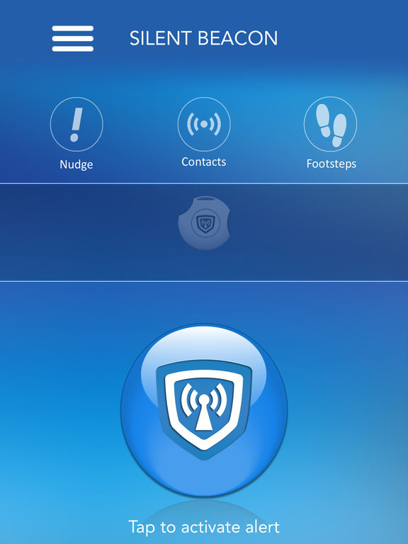 Silent Beacon - Emergency alert system, alert loved ones instantly in an emergency. screenshot