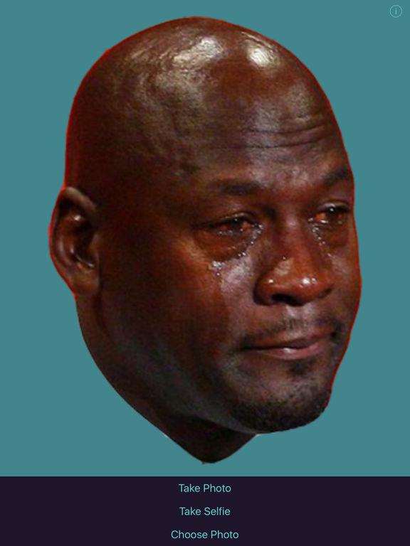 Crying Jordan Meme Generator on the App Store