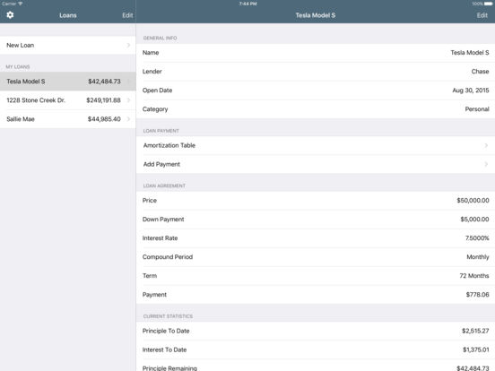 Loans Lite: Personal Loan Assistant iPad Screenshot 3