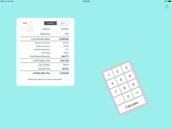 Self-Employment Calculator - YouTube