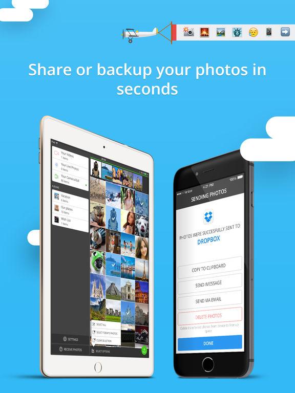 Rapid Photo Transfer Screenshots