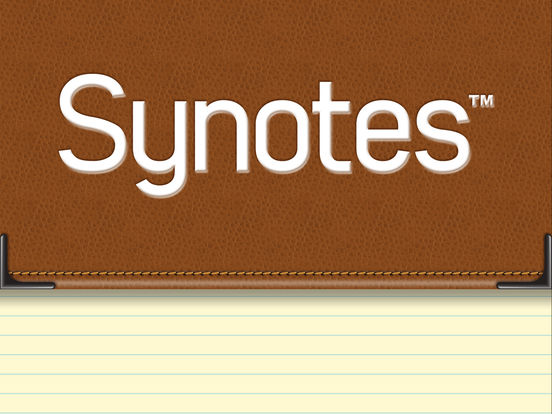 Synotes Mobile iPad Screenshot 1