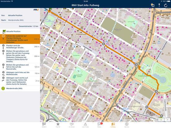 RNV Start.Info iPad Screenshot 4