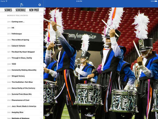 Blue Devils iPad Screenshot 1
