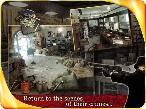 Public Enemies : Bonnie & Clyde HD iPad Screenshot 4