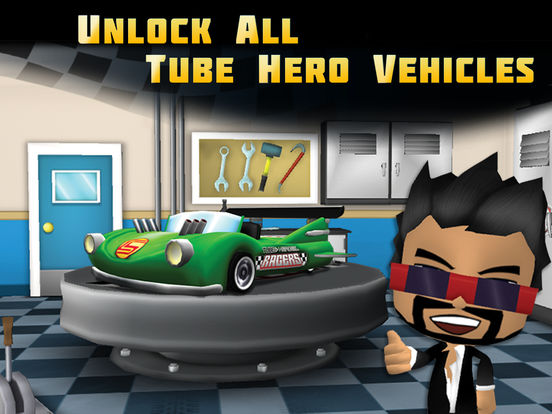Tube Heroes Racers для iPad