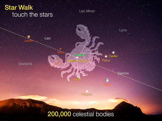 Star Walk™ HD: View Stars, Planets & Night Sky Map Screenshots