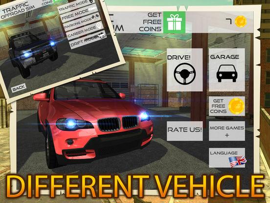 Offroad Vehicle Driving Parking Career Simulatorscreeshot 3