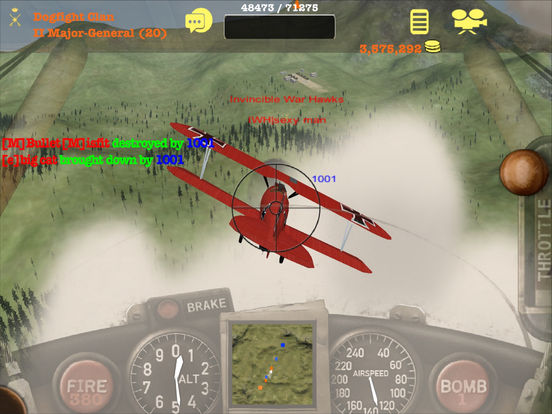 Screenshot #4 for Dogfight Elite