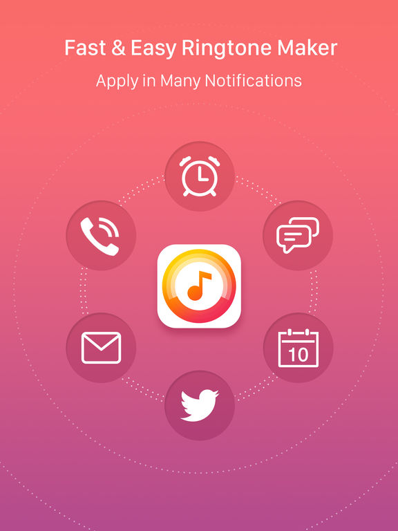Ringtone Maker Free – create ringtones with your music screenshot